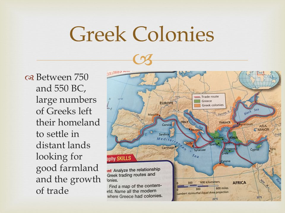 Greek Colonies