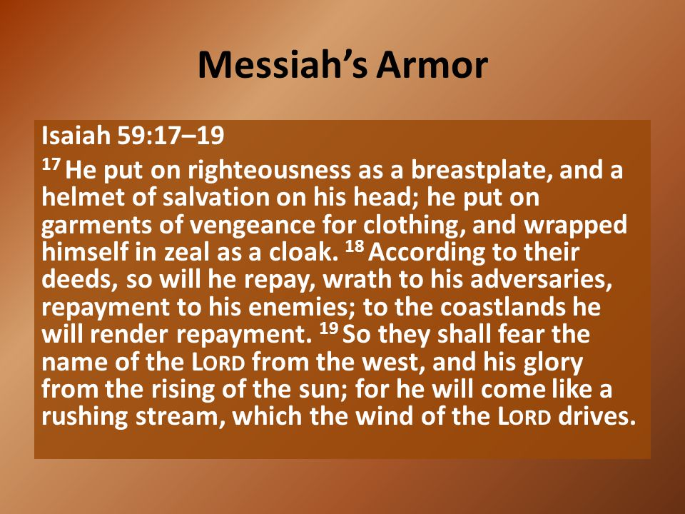 Messiah's Armor