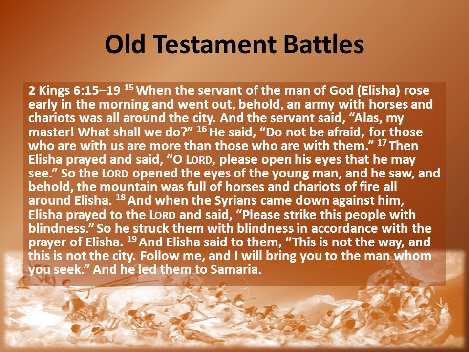 Old Testament Battles