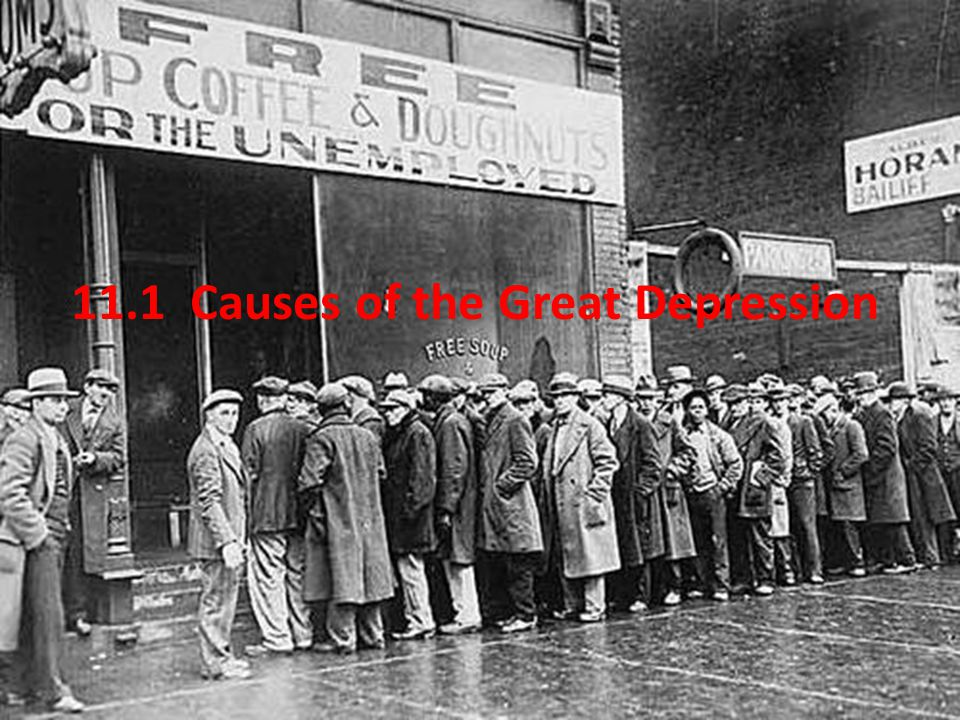 11.1 Causes of the Great Depression