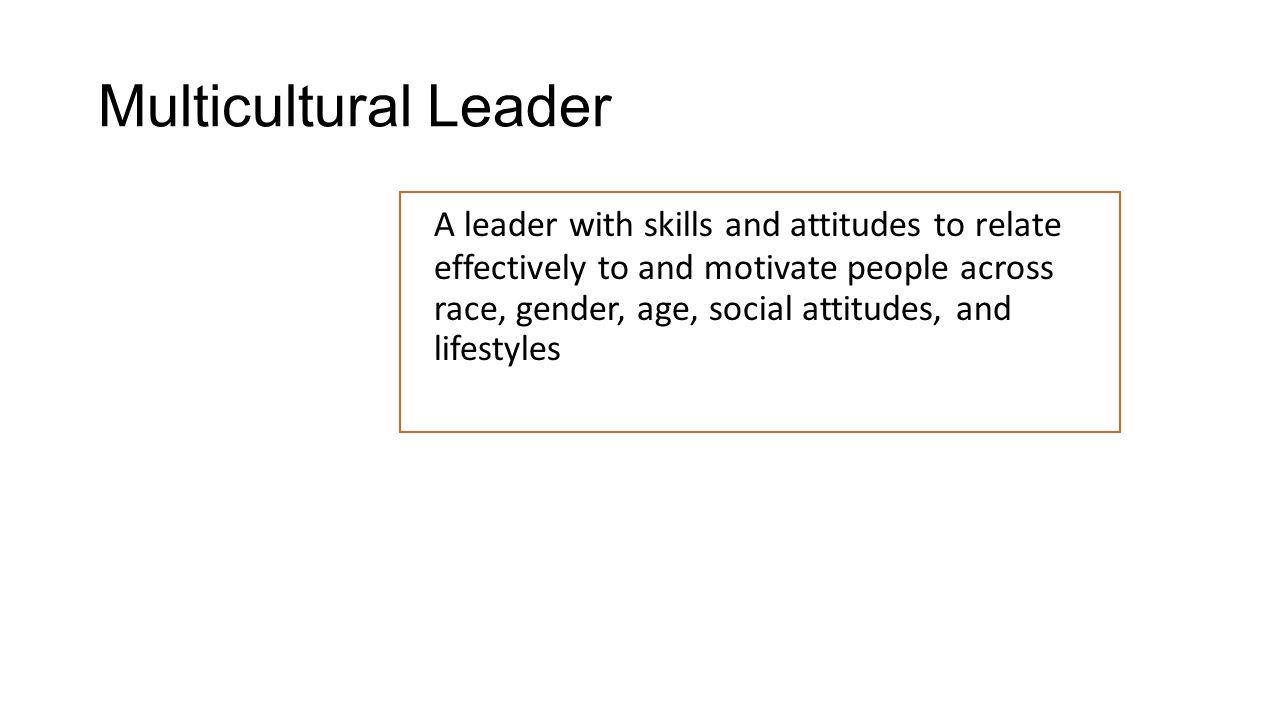Multicultural Leader