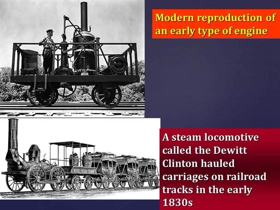 Modern reproduction of an early type of engine