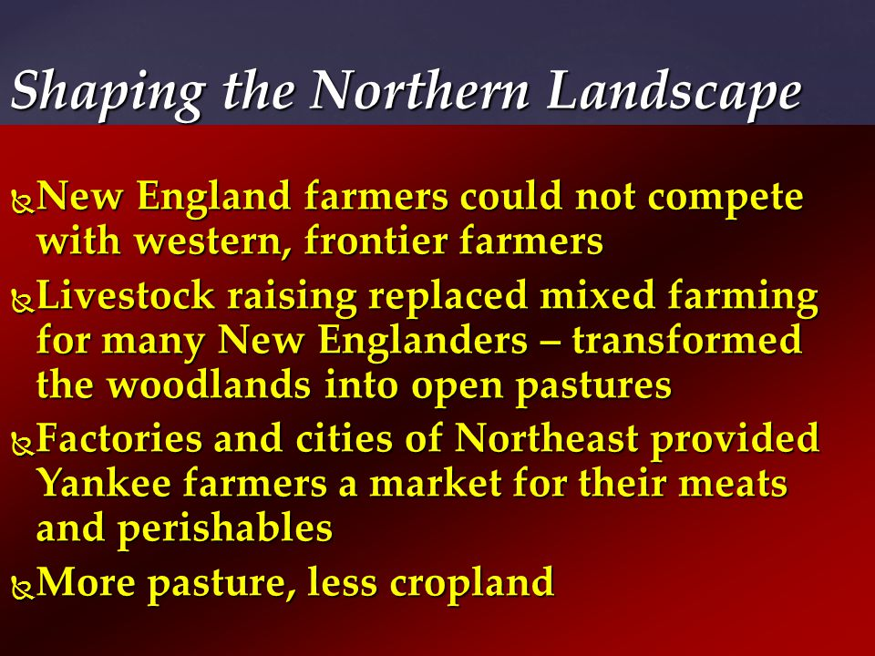 Shaping the Northern Landscape