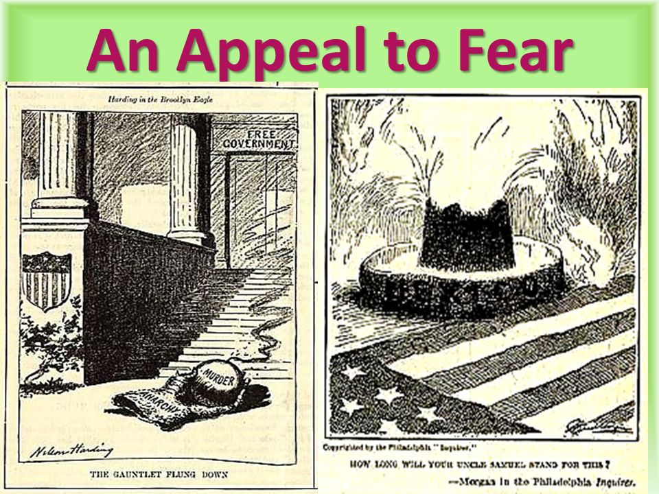 An Appeal to Fear