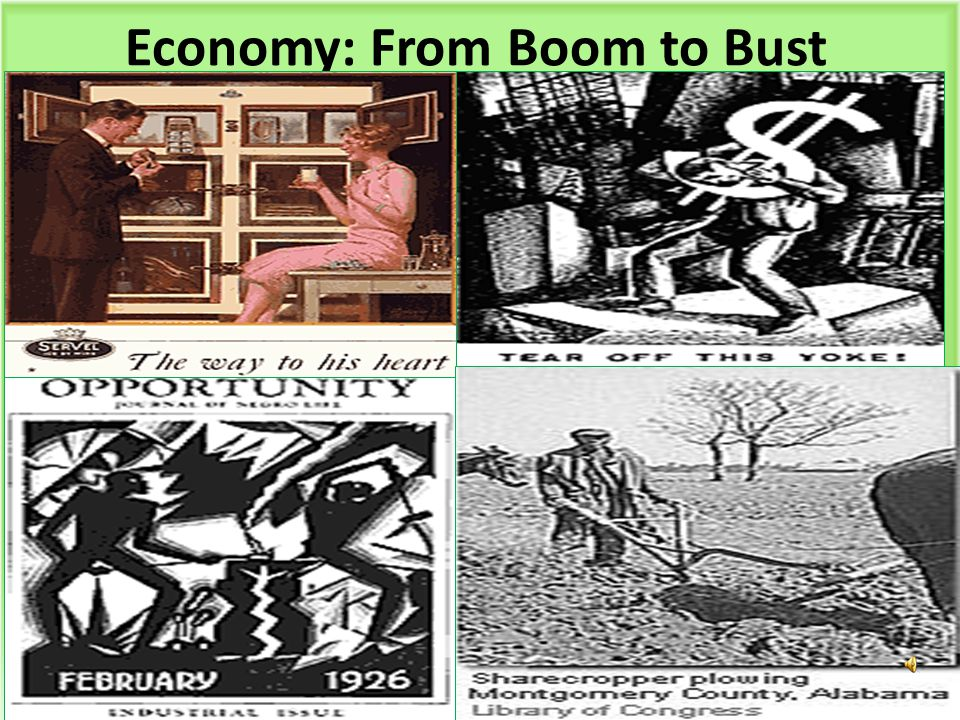 Economy: From Boom to Bust