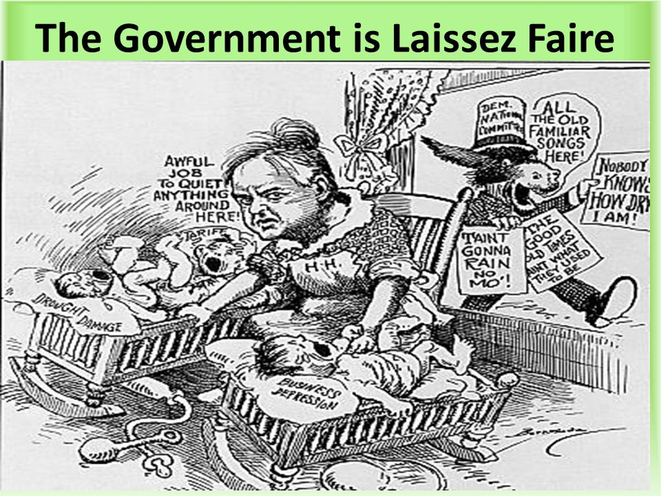The Government is Laissez Faire