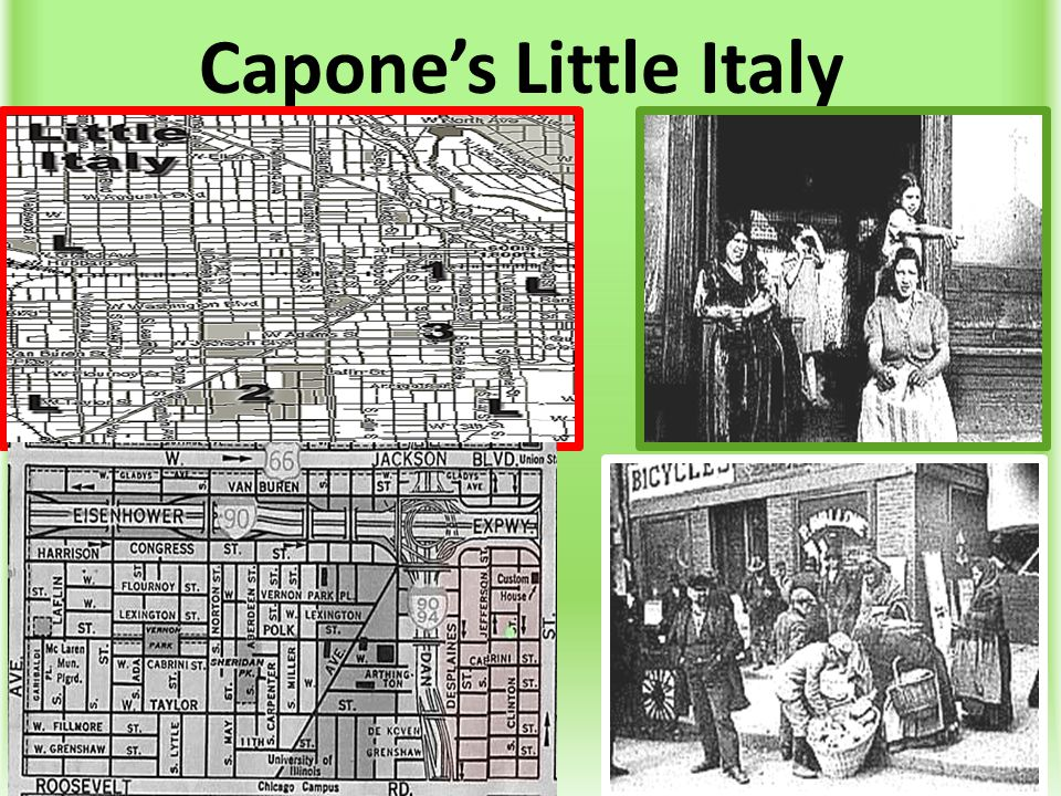 Capone's Little Italy