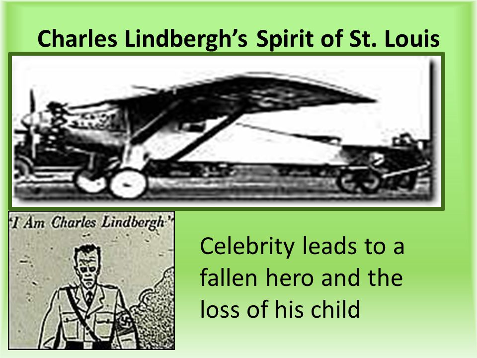 Charles Lindbergh's Spirit of St. Louis