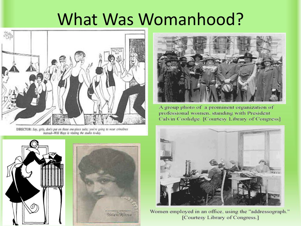 What Was Womanhood