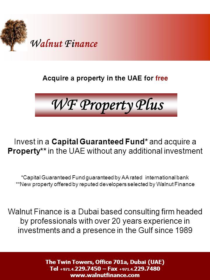 Walnut Finance WF Property Plus