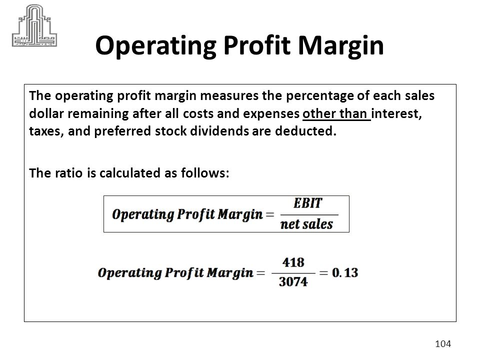 Operating Profit Margin