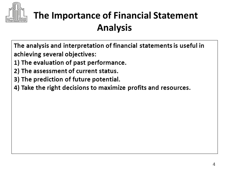 importance of the financial report