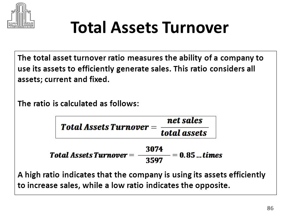 Total Assets Turnover