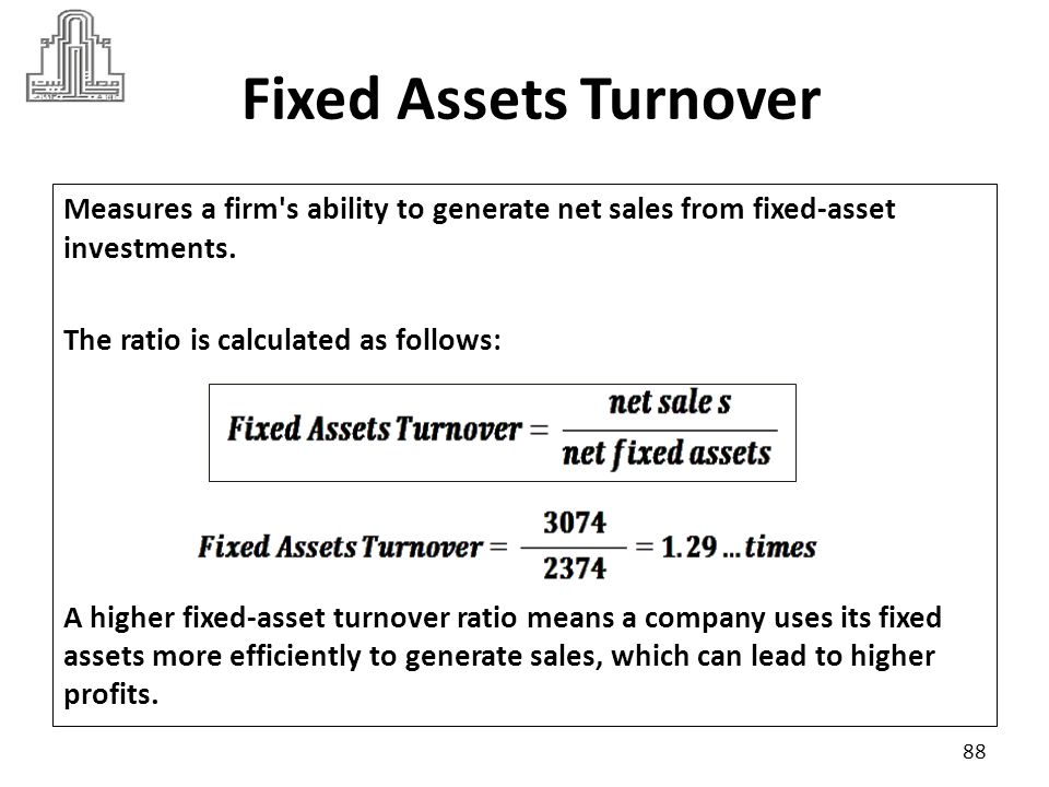 Fixed Assets Turnover