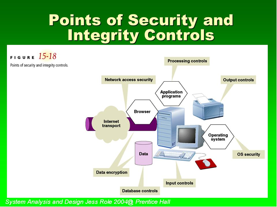 Points of Security and Integrity Controls