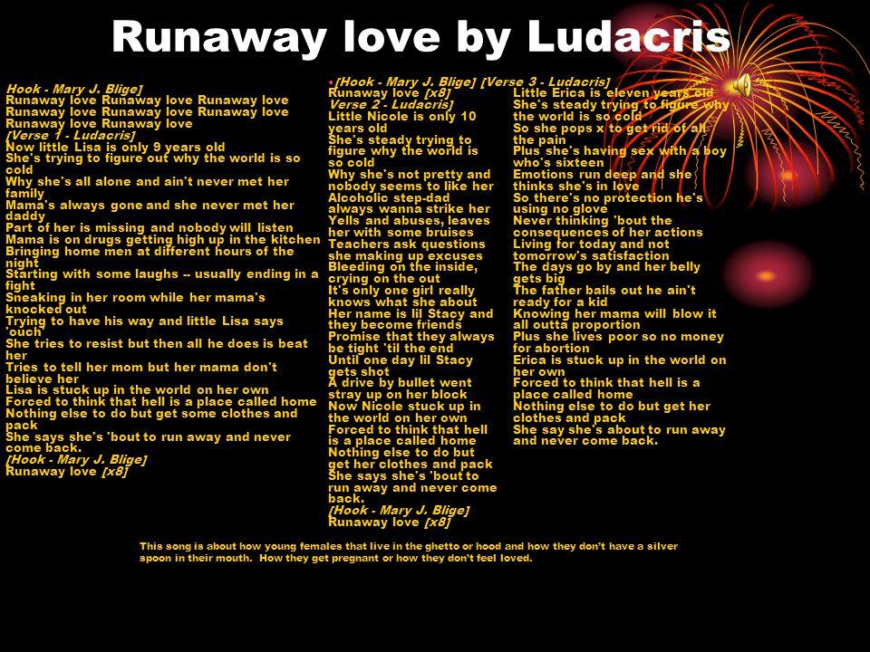 Runaway love by Ludacris