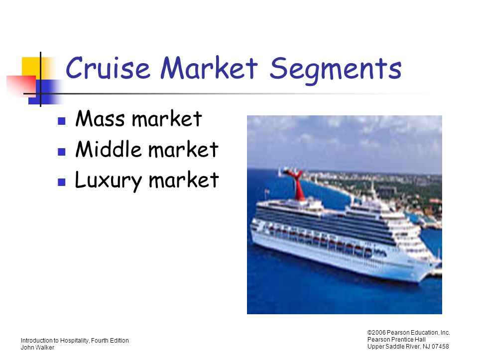 Cruise Market Segments