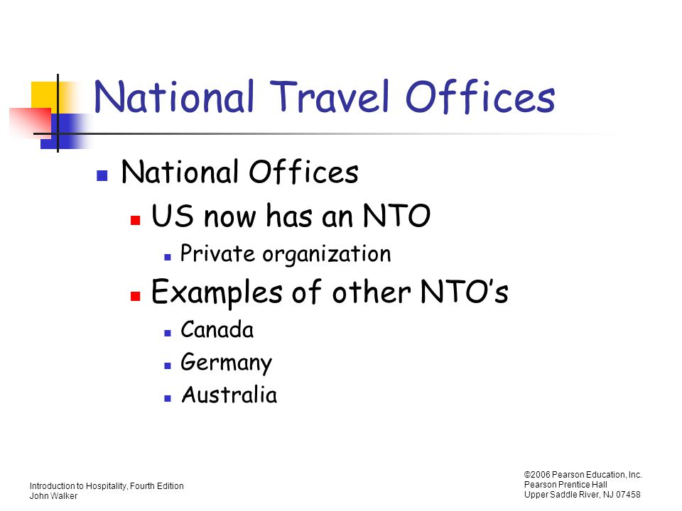 National Travel Offices