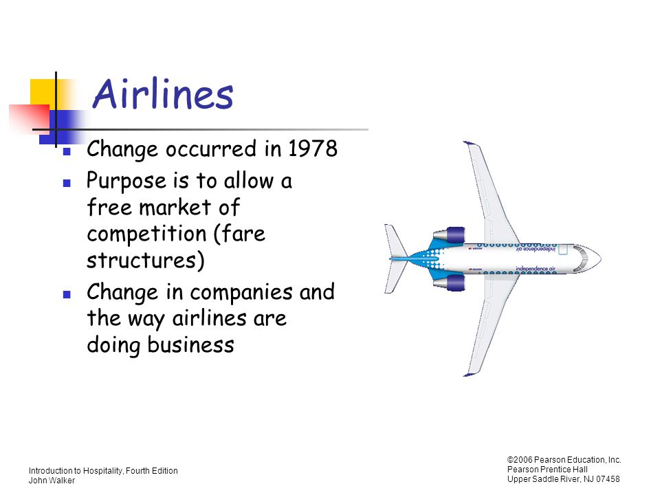 Airlines Change occurred in 1978