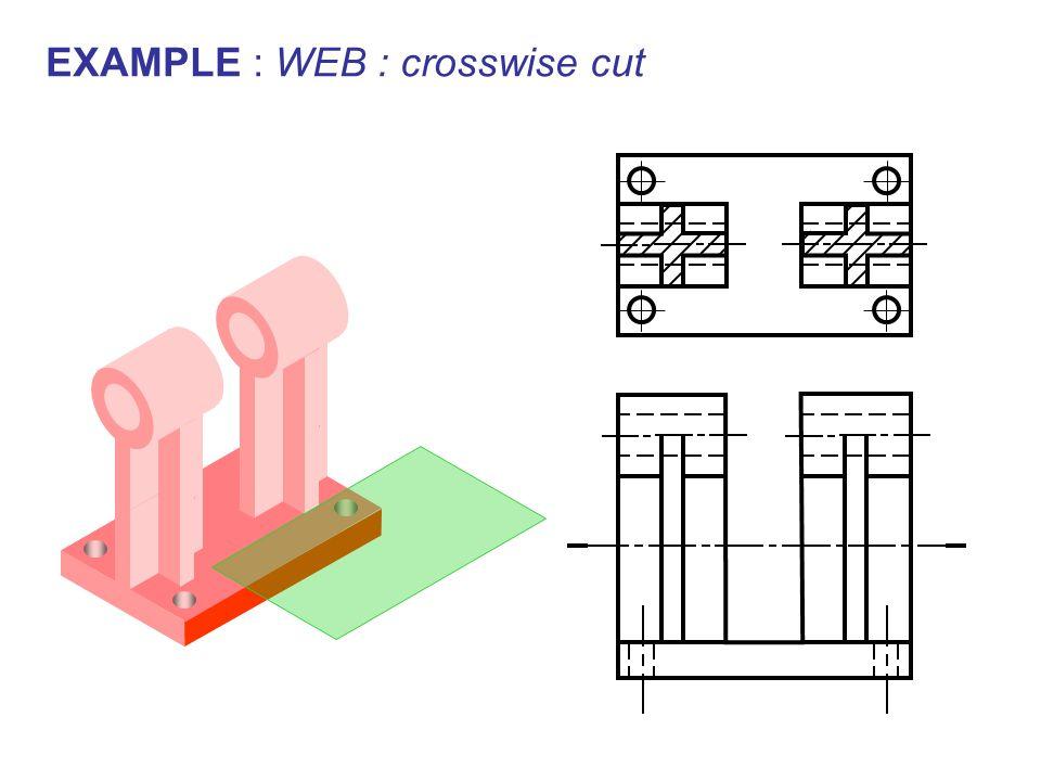 EXAMPLE : WEB : crosswise cut