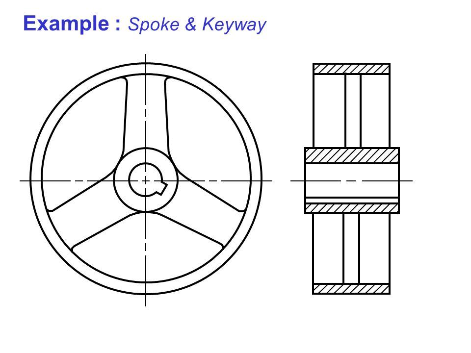 Example : Spoke & Keyway