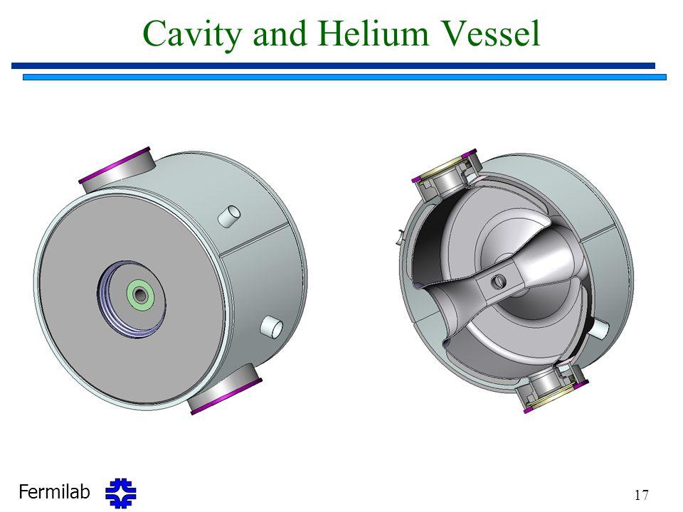 Cavity and Helium Vessel