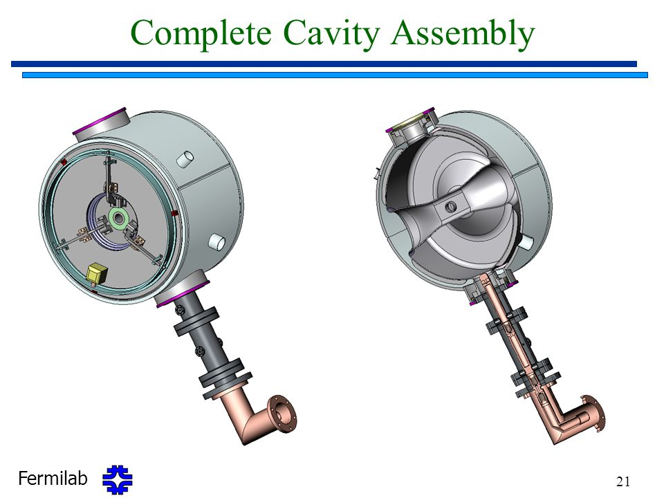 Complete Cavity Assembly