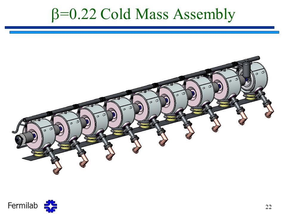 b=0.22 Cold Mass Assembly