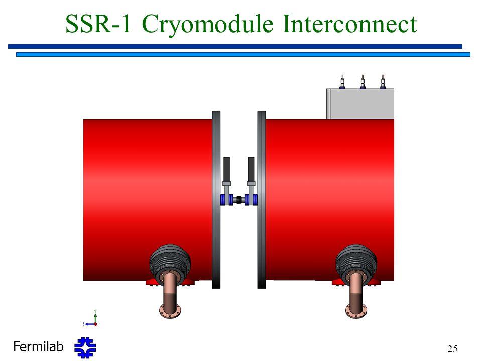 SSR-1 Cryomodule Interconnect