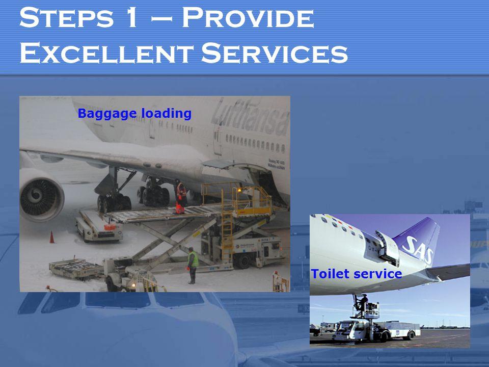 Steps 1 – Provide Excellent Services