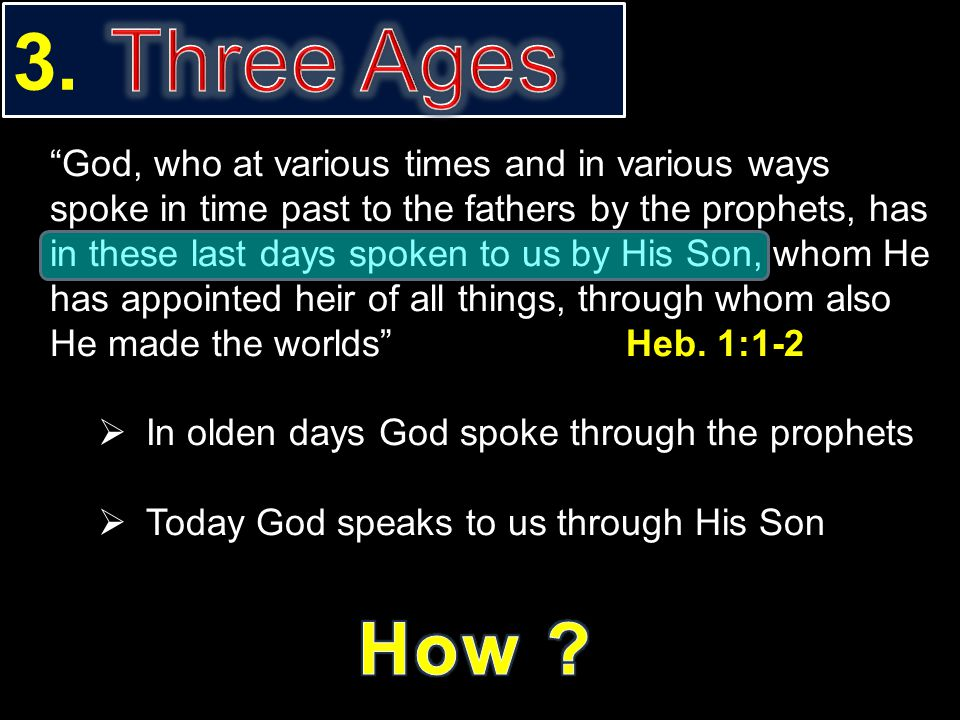 3. Three Ages.