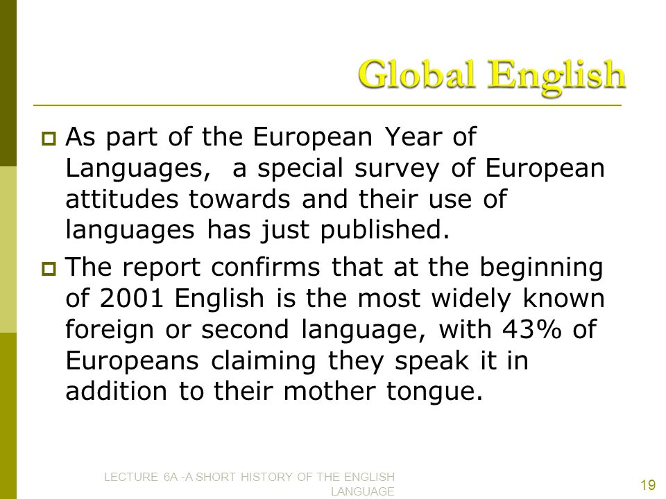 A Short History of the Origins and Development of English ...