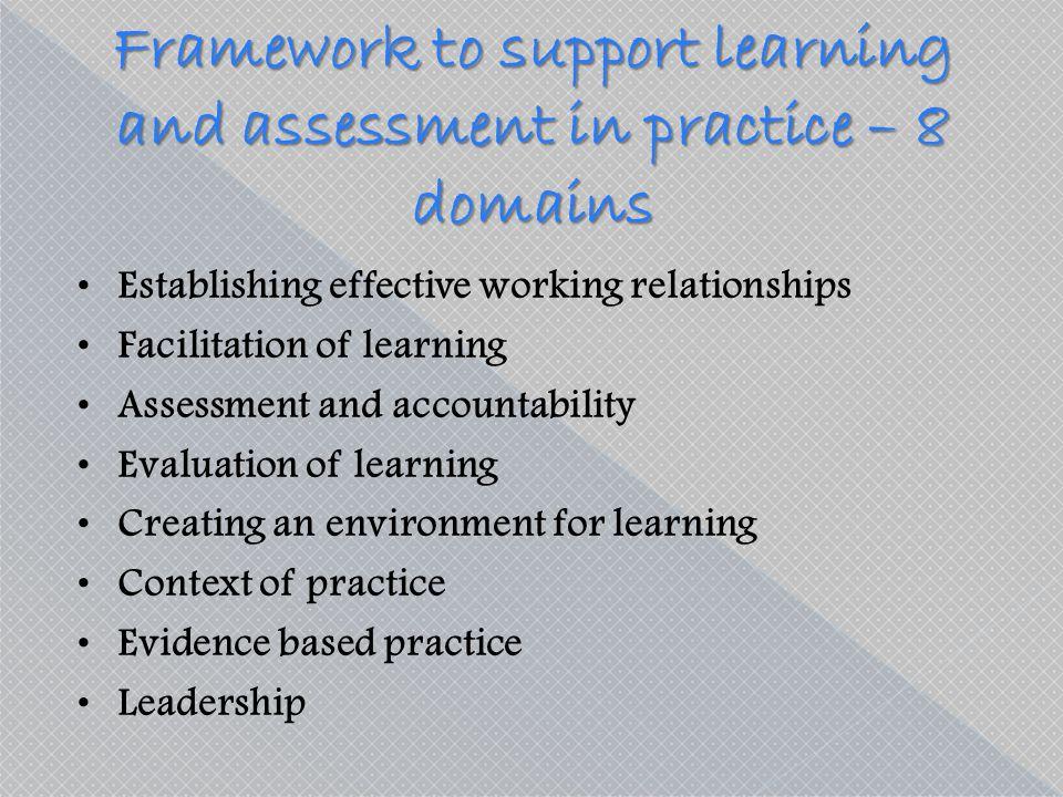 facilitation of learning in mentorship