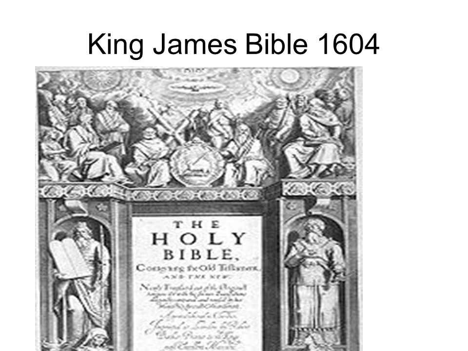 King James Bible 1604