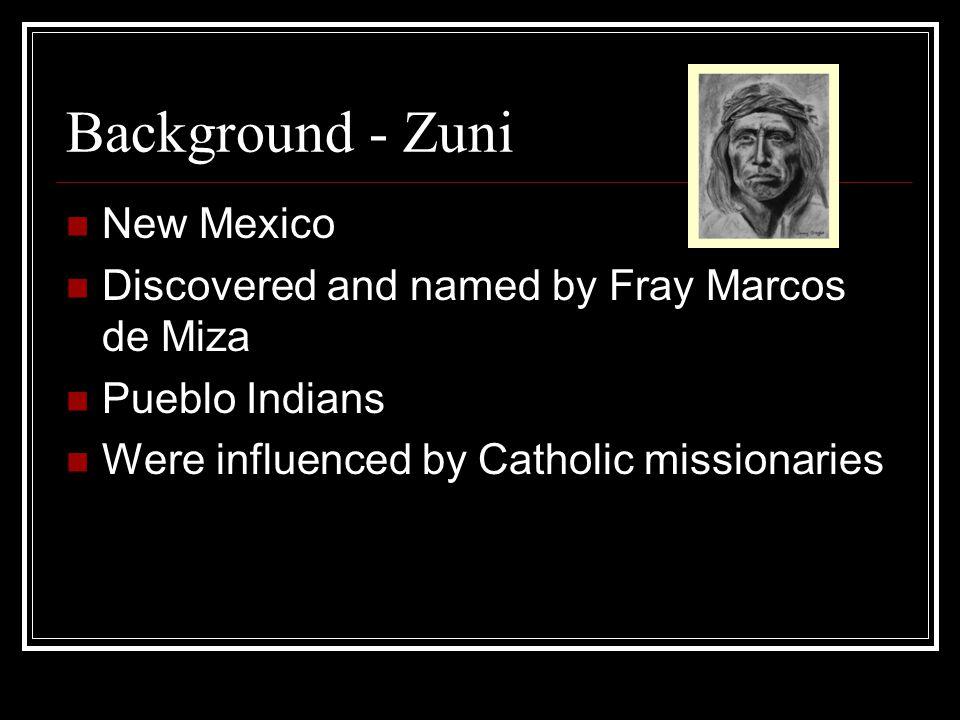 Background - Zuni New Mexico