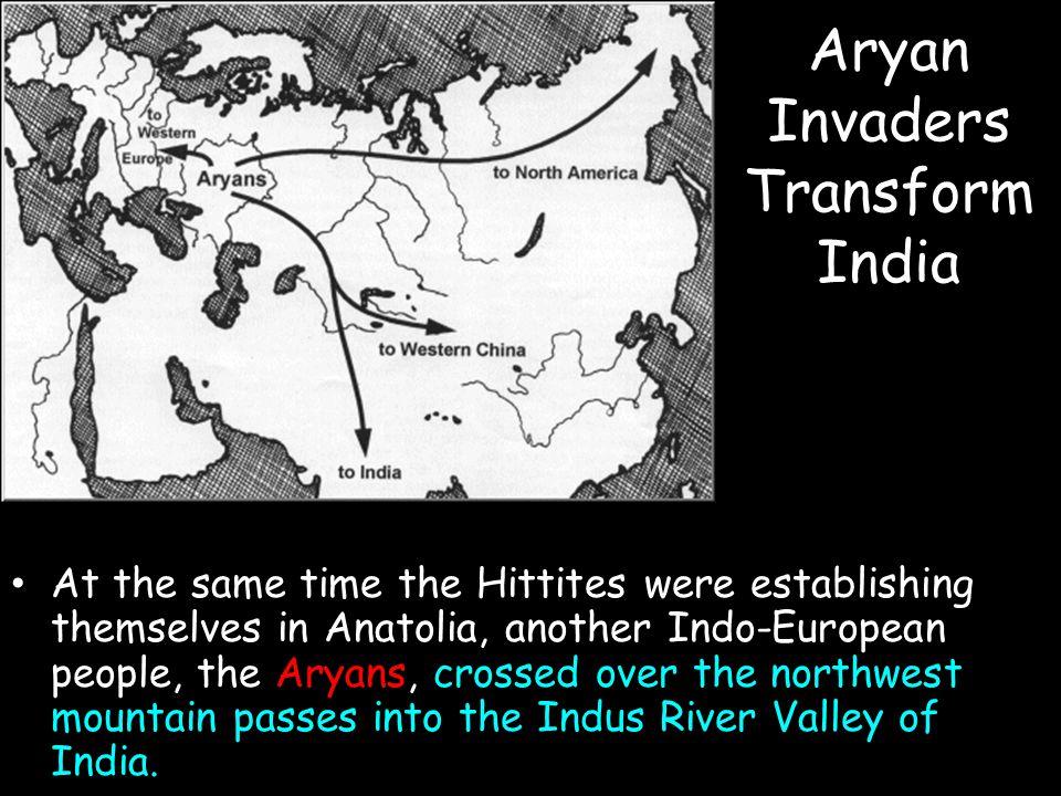 Aryan Invaders Transform India