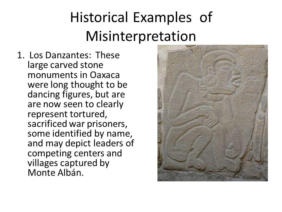 Historical Examples of Misinterpretation