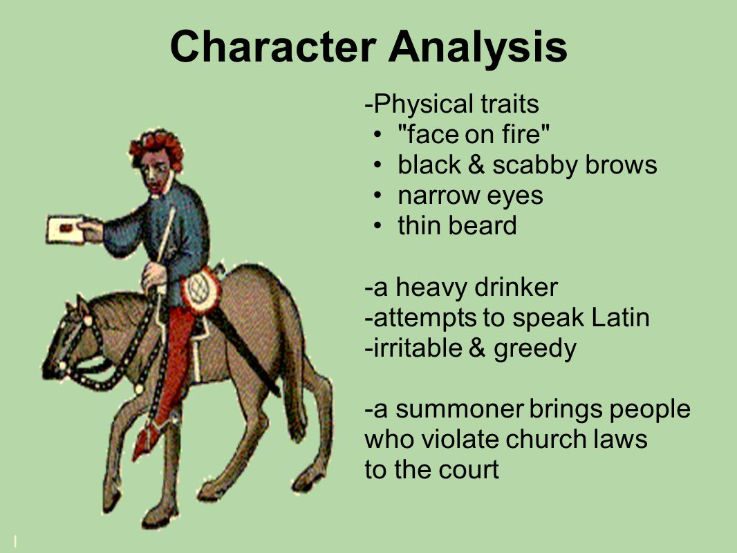 Character Analysis -Physical traits face on fire