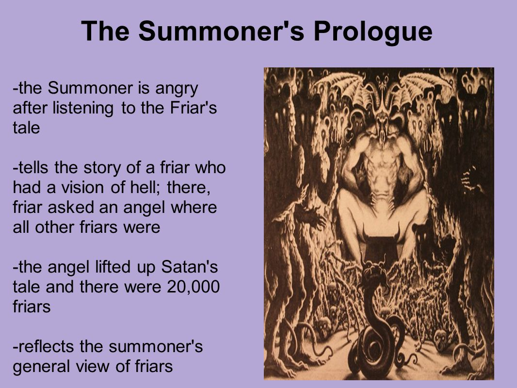 The Summoner s Prologue