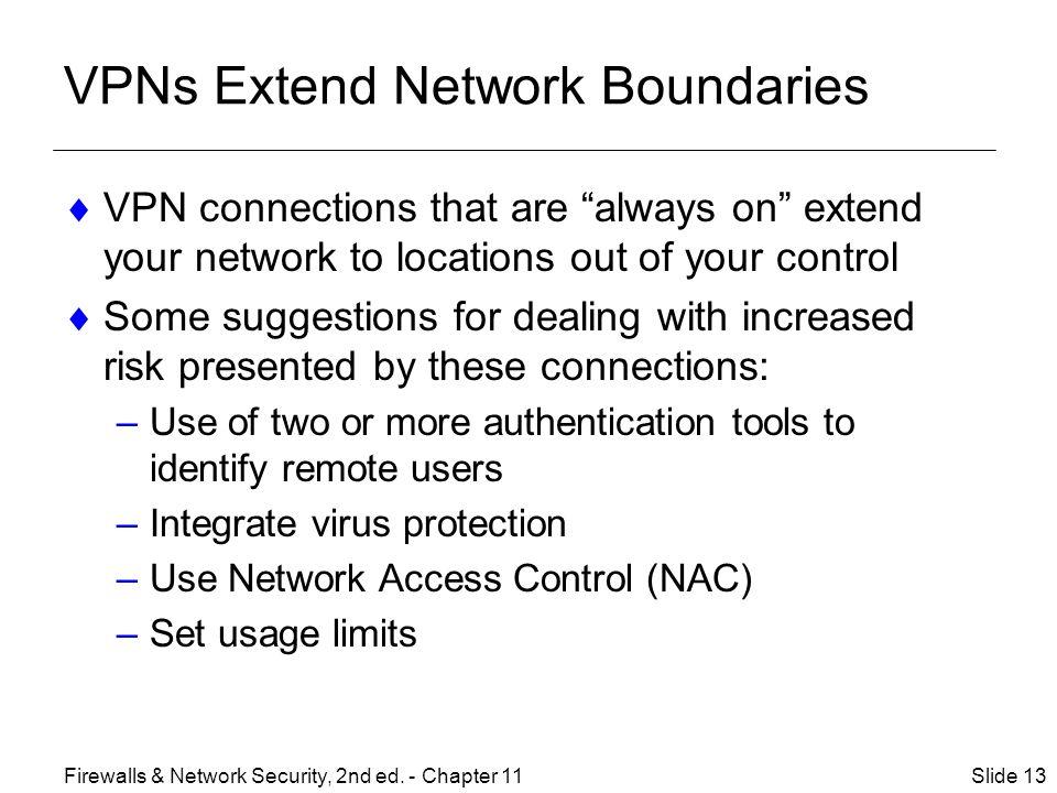VPNs Extend Network Boundaries