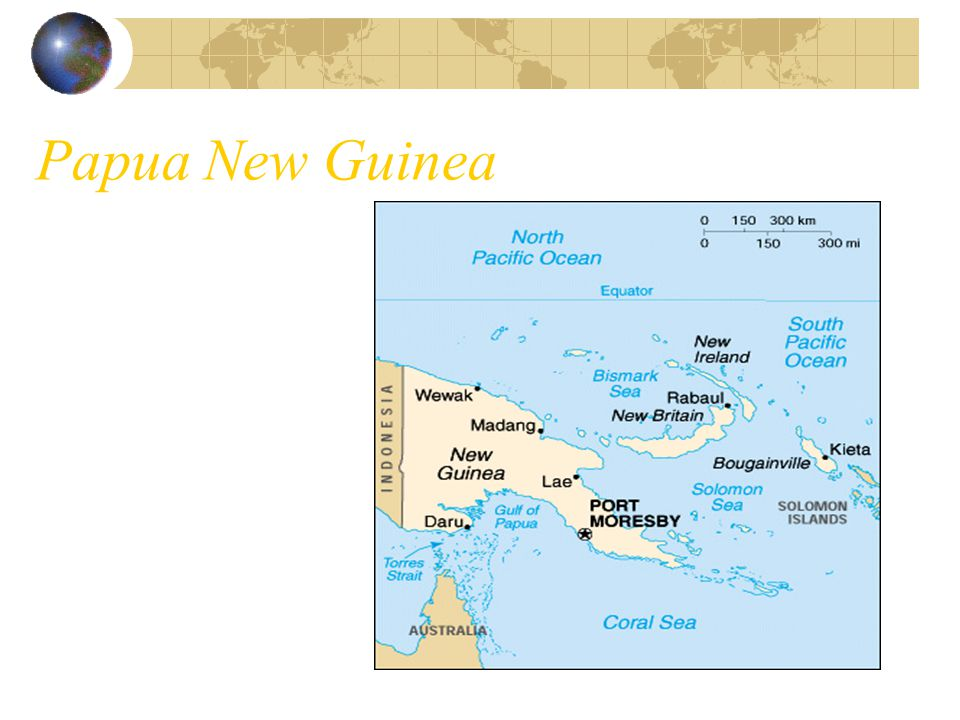 Papua New Guinea Independence 1975