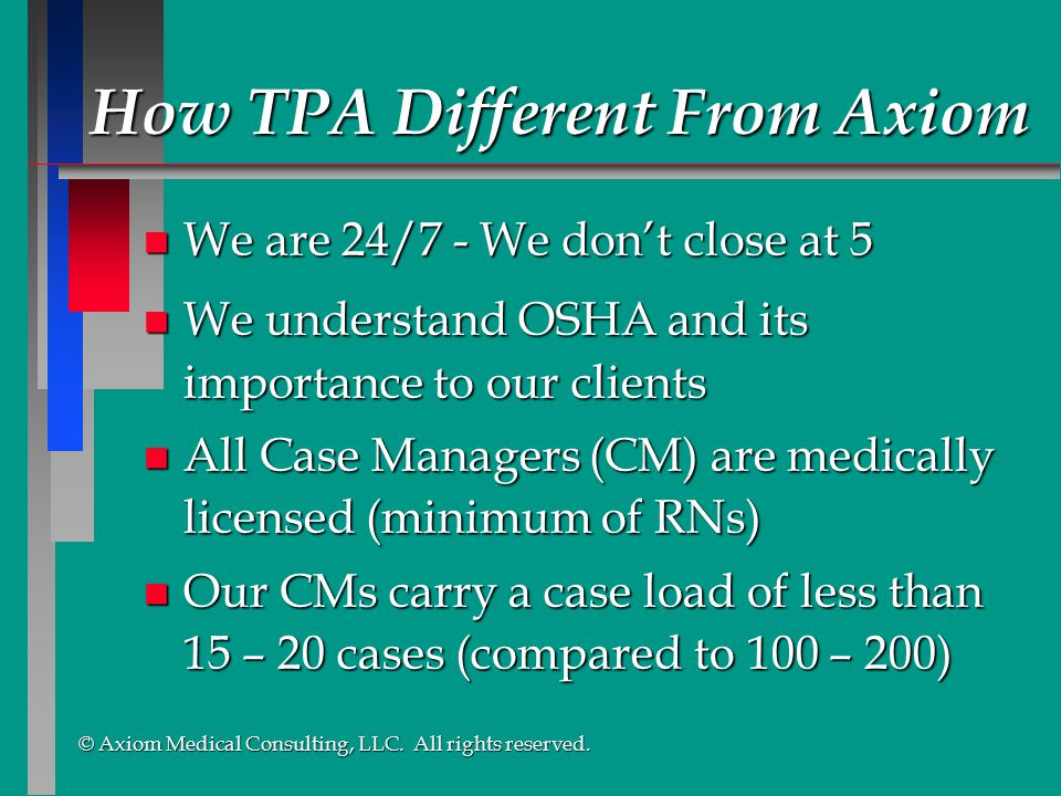 How TPA Different From Axiom