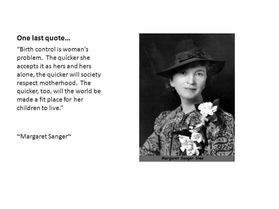 One last quote…