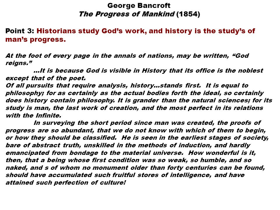 The Progress of Mankind (1854)