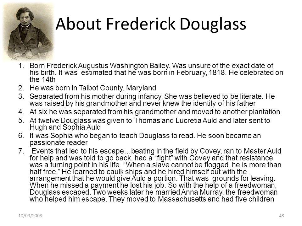 About Frederick Douglass