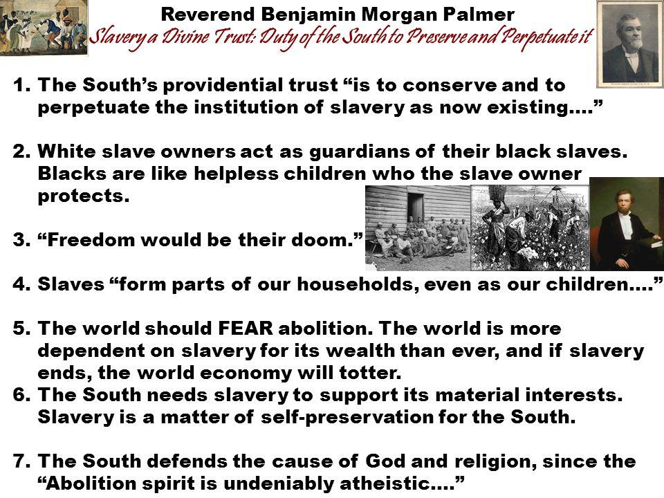 Reverend Benjamin Morgan Palmer