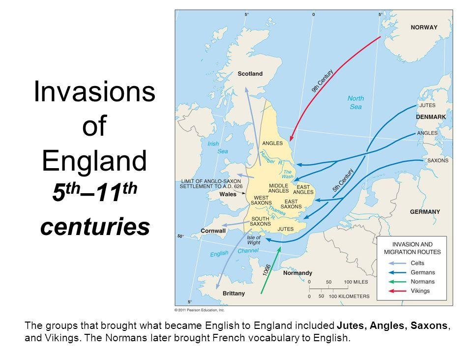 Invasions of England 5th–11th centuries