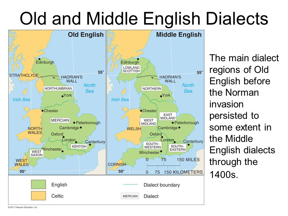 Old and Middle English Dialects