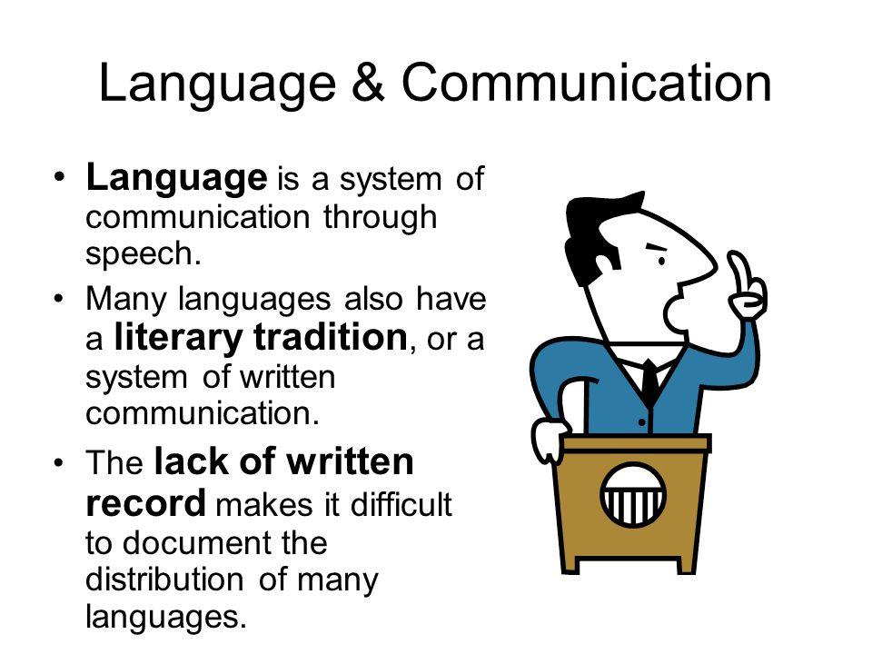 Language & Communication