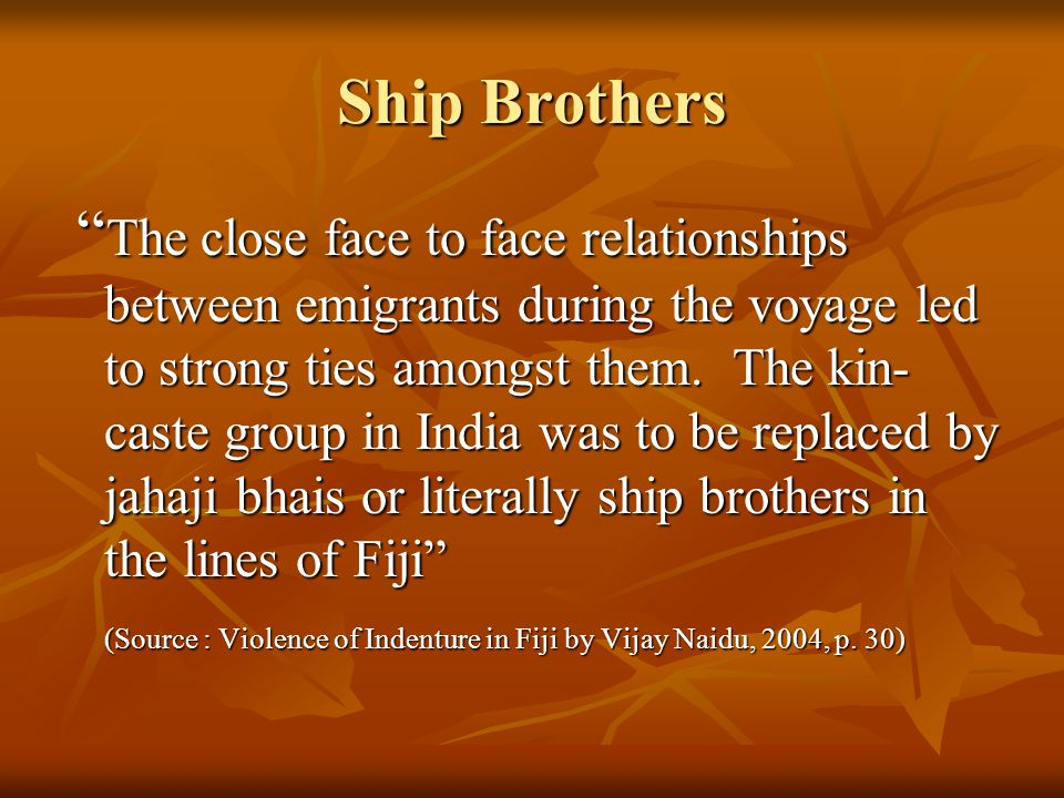Ship Brothers